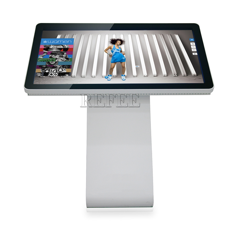 Table top mini lcd ad display android info tablet trade show touch screen