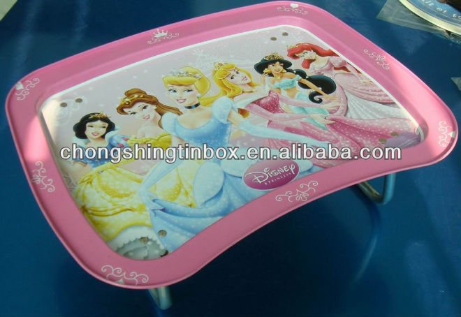 sweet cute tin serving tray