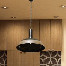 Ethnic Roots Black & Brown Finish Metal Pendant Light