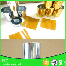 12micron*64cm*120m Gold/silver Foil For Transfer Paper Hot Stamping
