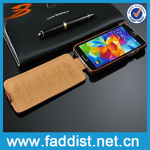 Reasonable price for Samsung galaxy s5 i9600 leather case