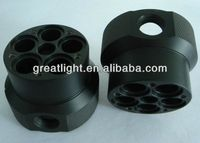 manufacture Precision CNC Machining POM parts, CNC Turning Machined Black Pom Component,Plastic pom Parts