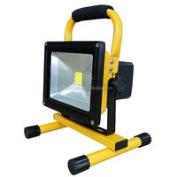 Best selling ourdoor battery portable 10w 20w 30w 50w rechargeable led flood light