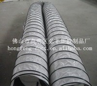 yellow flexible ducting polyester insulated, pvc flexible duct