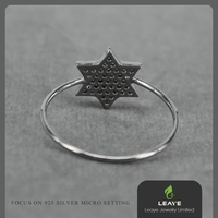 friendship rings, sample engagement rings, micro pave fine jewellery