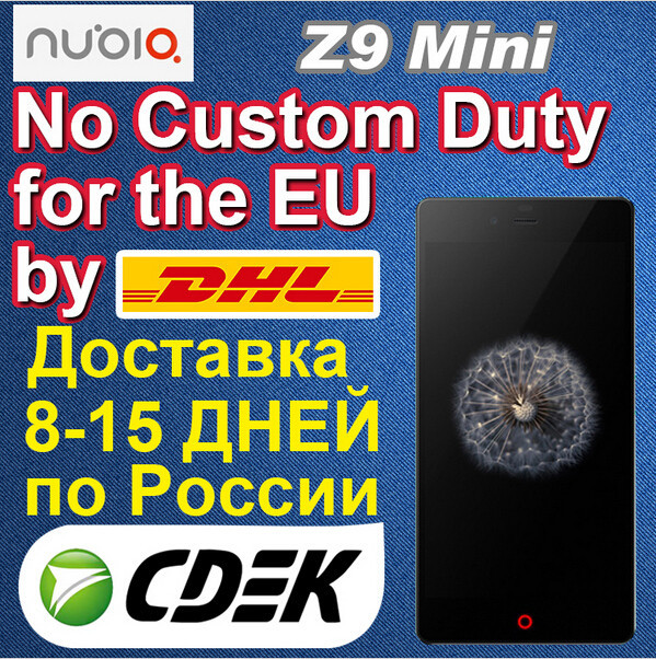 original zte mobile phone ZTE nubia Z9mini 5.0 inch IPS screen available now
