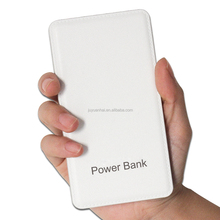 5000mAh ultra thin extenal slim power bank, manual for power bank