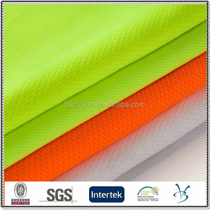 polyester fluo fake interlining fabric mesh china fabric market wholesale fabric price per yard