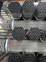 Hot Dip dipped Galvanized steel pipe 50mm dn50 large dia small dia pipe manufacturer