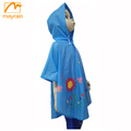 Front-buttons kids raincoat clothing