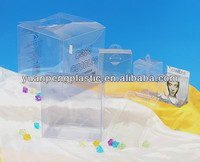 2014 new style pp plastic box , Clear cosmetic box