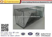 Steel One door live animal Rigid Armadillos Cats Groundhogs Muskrats Opossums Raccoons and Skunk cage traps