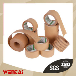 Chinese mainland factory Wenzhou factory This price ! No.1 Customed Brown Kraft Paper Sealing Tape