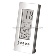 ESUN factory supply cheapest home decor digital desktop table weather station promotion gift clock