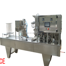 guangzhou packing machinery BG32A-4 full automatic jelly jam milk cup filling sealing machine