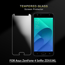 Premium 9H 0.3mm Tempered Glass Film for Asus zenfone 4 selfie zd553kl Screen Protector