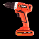 18V Multifunctional Lithium Electric screwdrivers Cordless Tool Drill Set