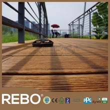 Medium carbonized strand woven bamboo manufacturing outdoor flooring
