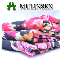Mulinsen Textile Woven Chiffon Blend 30/70 Silk Cotton Fabric