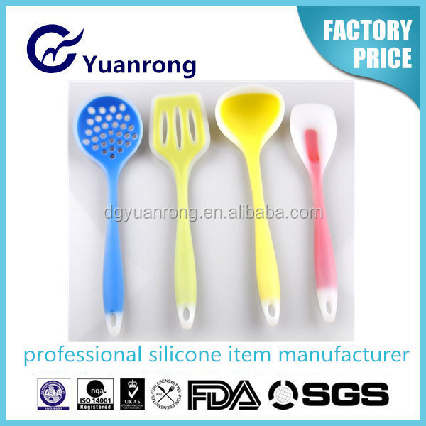 Factory Made Eco-friendly Silicone Utensils Series