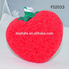 Funny waterproof vibrating bath sponge massager vibrating facial massager