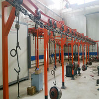 Spray painting booth powder coating equipment
