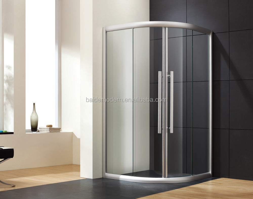 fashionable glass shower screens for wet rooms