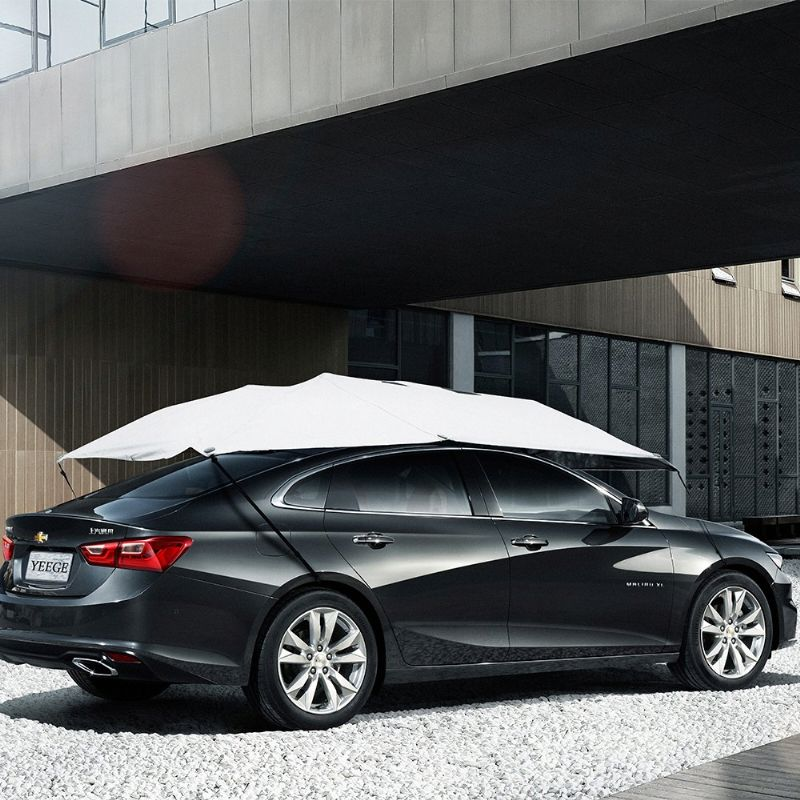 SUNCLOSE folded car front windshield cover car sun visor covers magnetic car windshield snow cover