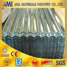 Zinc coated corrugated Roofing /sheet Metal Roofing tile