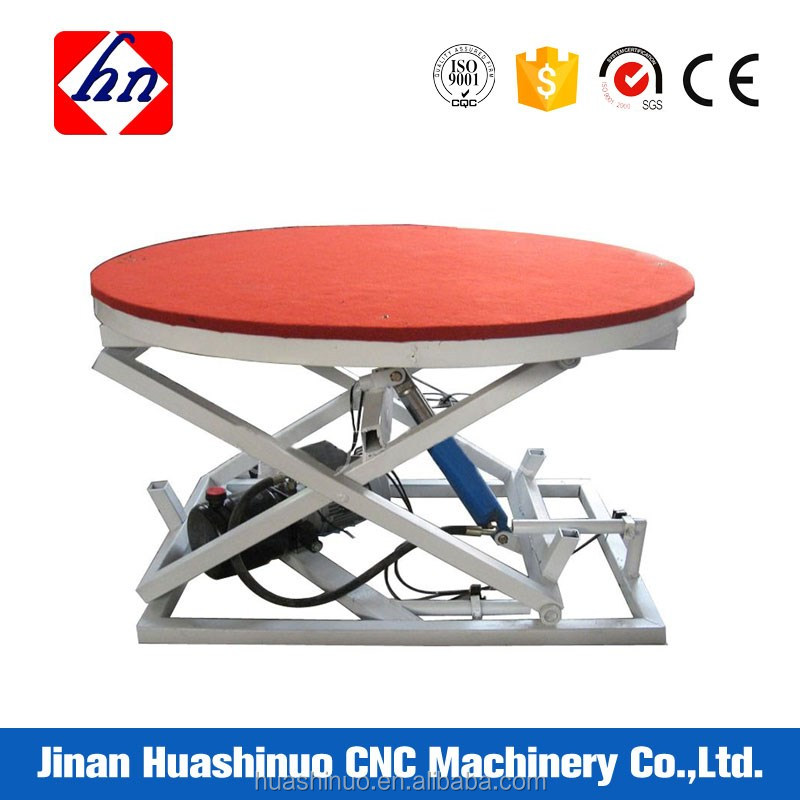 Made in China cheap price electric auto rotating table for sale