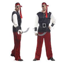Cool Men Popular Pirate Halloween Party Cosplay Costumes