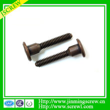 China factory supply hex screw step Antique copper screw price