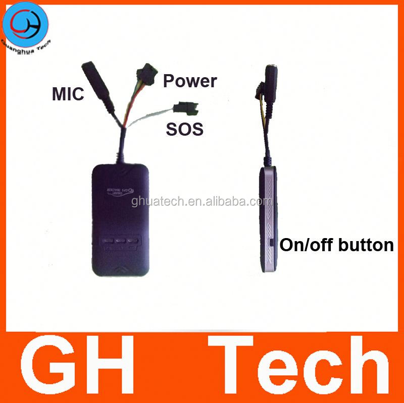 GH 3 Years Warranty Real Time Locating gps tracker support change imei with SOS MIC relay GT06S