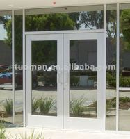 Aluminum entry door