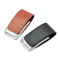 OEM Leather USB Memory Stick USB Flash Drive 8GB 16GB 32GB With Logo
