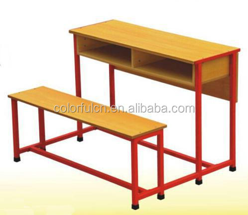 Export Africa And Middle East Double School Table And Chair A-031