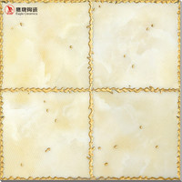 Eagle brand floor tile 300 x 300mmyellow glazed small tile 300*300, polish crystal tiles bathroom foshan manufactory