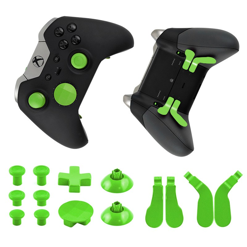 Hot selling button set metal thumbstick d-pad for xbox one elite controller