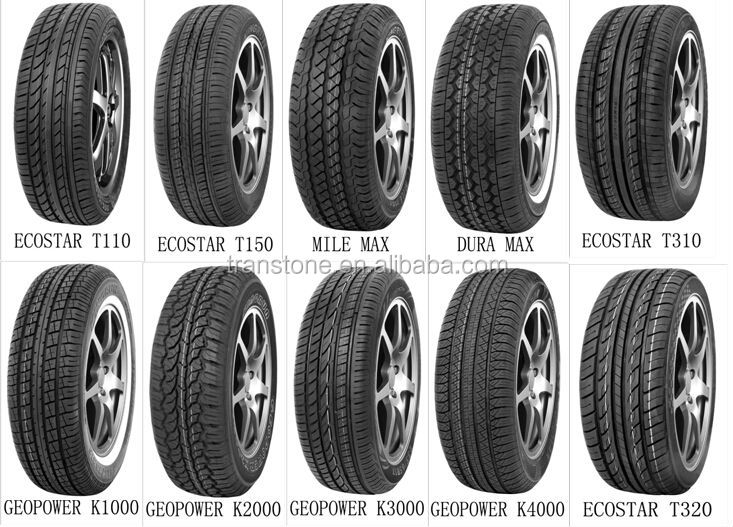 car tyre atv tyre 205 / 55R16 195 / 60R16 new tyre factory in china BESTRICH brand