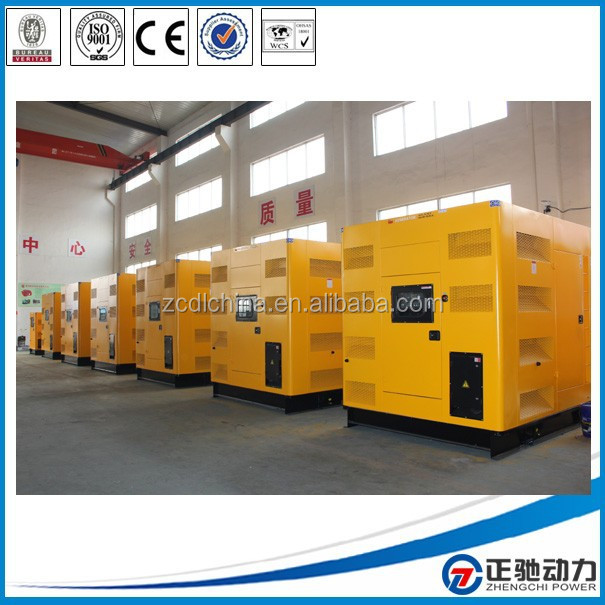 All-Weather Proofed 500KVA heavy duty diesel generator price with Cummins QSZ13-G3