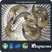 Whole Round Raw/Cooked IQF HOSO/HLSO/PD/PND/PDTO Vannamei Shrimp Penaeus Vannamei White Shrimp