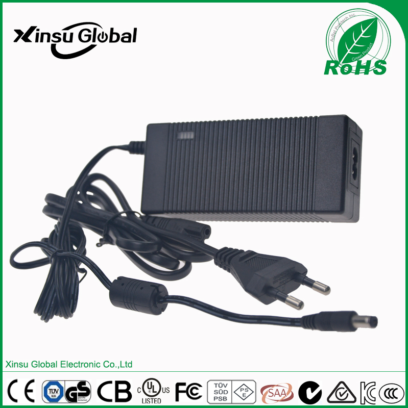 portable 14.6V 3A LiFePO4 battery charger with UL,cUL,CE,PSE,SAA,FCC,C-tick, RCM.etc