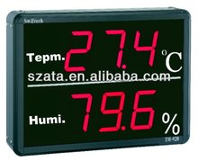 red/ green 4 digit led digital thermometer/temperature display