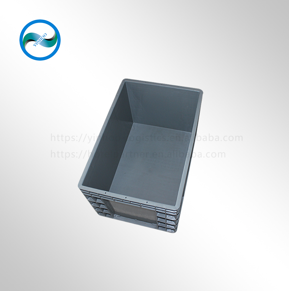 EU4633 600*400*340 industrial use keyway plastic box