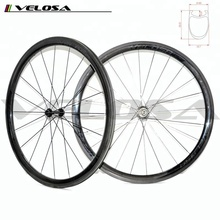 700C 38mm carbon clincher wheelsets, Powerway R13 Hubs straight Pull bicycle wheels on sale