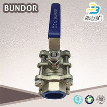2Pc Mini Ball Valve Cf8M 1000Wog