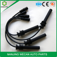 Accept sample order auto parts silicone ignition cable for chevrolet CN100