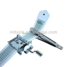15 note hand crank paper strip music mechanism