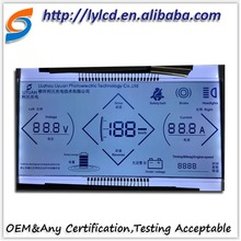 Seven Segment E-ink LCD Display Panel for Car