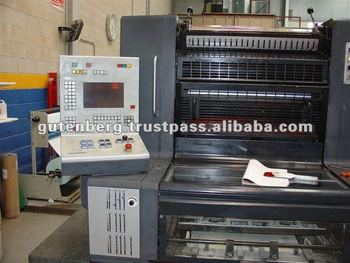 Heidelberg Speedmaster 74-2 Used Printing Machine
